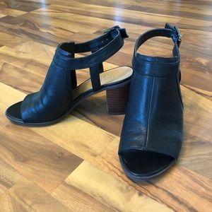Franco Sarto Harlet Sandal size 7 black